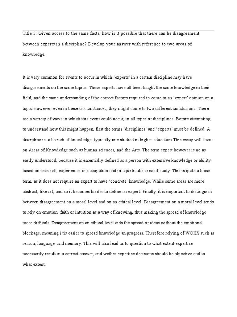 access essays