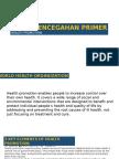 [Update] Level Pencegahan Primer Health Promotion