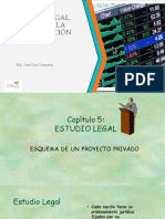 6 Estudio Legal de La Organziación