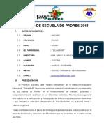 Escuela Para Padres 2014-1