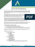 Advantage Clinical-Training-Site Audits-Course Syllabus and Description-20161008