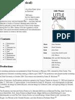 Little Women (Musical) - Wikipedia