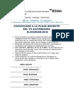COMUNICADOS DOCENTE