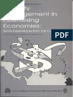 Liquidity Management in Liberalising Economies