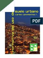 Normativa Del Uso Del Suelo Urbano