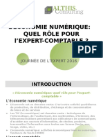 Economie Numérique Quel Rôle Pour LExpert Comptable V1.0
