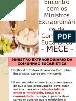 Formacao Ministros Extraordinarios Comunhao Eucaristica