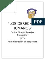 Los Derechos Humanos Carlos