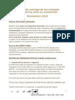 RYLA - Pautas de Entrega y Evaluación - 2016