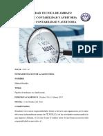 papeles auditoria