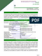 Abonos - Dap - Ficha Tecnica (Fosfato Diamonico)