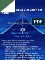 El Uso Del Agua y El Valor Del Agua