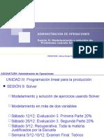 CLASE 09 Adm de Operaciones Negocios PEV 2016-2 v1