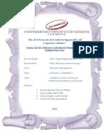 Actividad 1 Unidad II Proyecto y Presupuesto