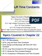 Chapter 22 RL and RC Time Constants