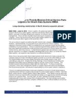 Choice Logistics to Provide Mission-Critical Service Parts Logistics for Hitachi Data Systems EMEA