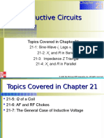 Chapter 21 Inductice Circuits