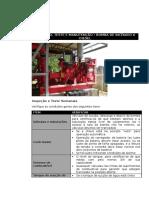 Inspeção Teste e Manutenção - MotoBomba de Incêndio Diesel