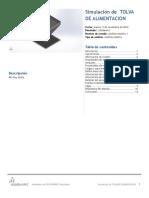 Tolva de Alimentacion-Análisis Estático 1-1