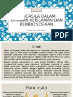 Pancasila Dalam Tatanan Keislaman Dan Keindonesiaan