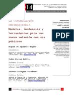 La Comunicación Universitaria Modelos