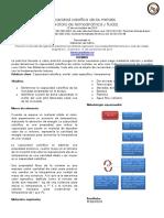 Capacidad Calorífica de Los Metales. Informe de Termodinámica y Fluidos. Sesión No.2