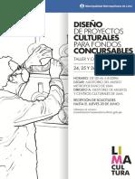 Material de Referencia - Taller de Diseño de Proyectos Culturales- MML
