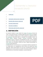 Derecho Comercial o Derecho Mercantil PERU
