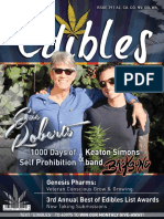 Edibles List Magazine Issue 29 Featuring Eric Roberts and Keaton Simons