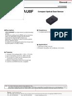 Dust Sensor by Optical Sensing System - GP2Y1010AU0F - isweek