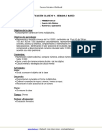 Planificacion Matematica 4 Basico Semana 3 Marzo 2013