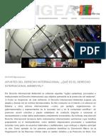 Apuntes Del Derecho Internacional_ _Qué Es El Derecho Internacional Ambiental_ _ Pangea UPR