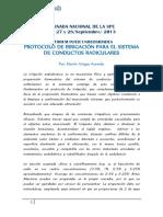 II Forum Inter Universidades Protocolo de Irrigacion Para El Sistema de Conductos Radiculares