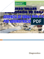 Gerencia de Obras Públicas Por Administración Directa