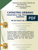 PPT1 Catastro Calango