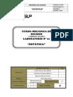Informe 1 Estatica Mesa 3
