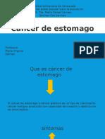 El Cancer de Estomago
