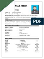 Azeem CV