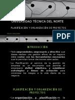 1 Planificación y Organización de Proyectos