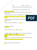 pilot worksheet 5