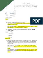 pilot worksheet 8
