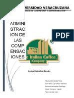Metodos para la evaluacion de puestos , evaluacion del desempeño ITALIAN COFEE