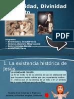 Humanidad y Divinidad de Cristo