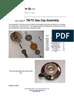 TT CR182 Gas Cap Assembly