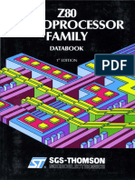 Z80 Microprocessor Family Jan90
