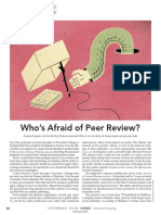 Who is Afraid of Peer Review