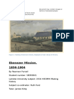 Ebenezer Mission Was Established in 1859 by the Moravian Missionaries Reverend Spieseke and Hagenauer in the Wimmera Region of Victoria
