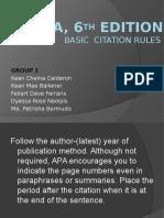 apa 6th edition citation apa style