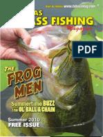 Texas Bass Fishing Mag Summer 2010
