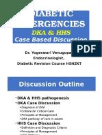 Diabetic Emergencies Case Studies